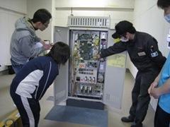 2014.2.19エレベータからの救出訓練 006
