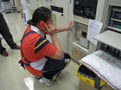 自衛消防避難訓練を実施しましたの画像