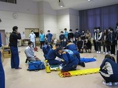 救急救命処置の勉強会を行いましたの画像